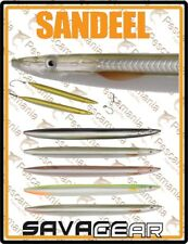 "Savage Gear ""3D LINE THRU SANDEEL"" 17.5cm 40gr artificiale spinning serra leccia"