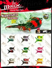 Artificiale spinning Molix Supernato Beetle baby top water soft 5,5gr. 5cm