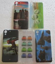 HTC Desire 728/728G Soft Silicon Printed Back Cover Cases