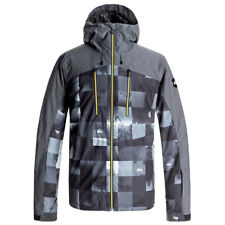 Giacca da Snowboard Quiksilver MISSION PLUS JACKET BW ICEY CHECK