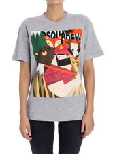 camiseta Estampado Multicolor Dsquared