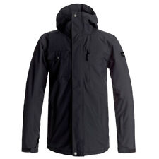 Giacca da Snowboard Quiksilver MISSION SOLID JACKET BLACK