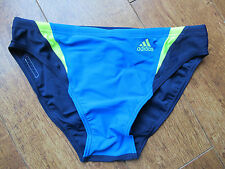 ADIDAS BOYS  6CM Trunks Briefs  BLUE YELLOW NAVY COMP INFINITE Swim 26""