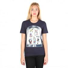 Love Moschino Vêtements Femme T-shirts Bleu 74767 BDX