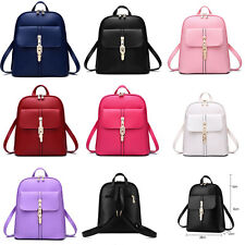 Women Handbag Tote Leather Backpack Travel Handbag Rucksack Shoulder School Bag
