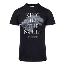 T Shirt Game Of Thrones King In The North Merchandising Cinema Casual Unisex