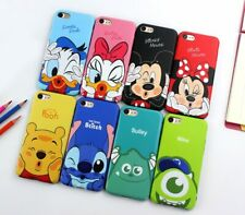 Personajes Disney Funda Carcasa para iPhone 6,6Plus, 7, 7 Plus, hard case