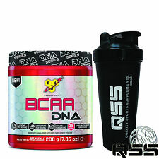 BSN BCAA DNA 200g 35 SERV BLEND OF AMINO ACIDS LEAUCINE ISOLEUCINE VALINE + SHAK
