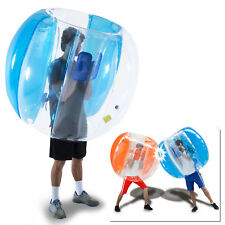 Body Inflatable Bubble Ball Human Game Soccer Football Toys Outdoor Lawn - Blue