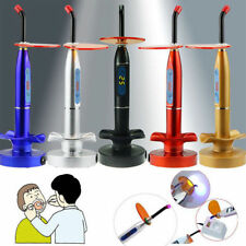 NEW Dental 10W Wireless Cordless LED Curing Light Lamp 2000mw 3 Color US Ship