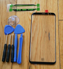 Outer Screen Front Glass Samsung Galaxy S8 G950 / S8Plus G955 + Adhesive + Tools