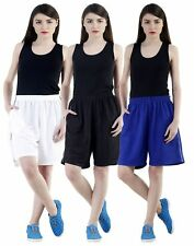 Pack of 3 shorts for women | comfort fitness pants | sports wear -Dee Mannequin