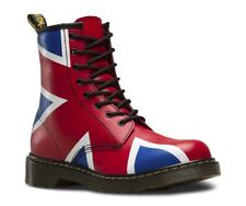 Dr Martens Delaney Union Jack boot with Laces and Zip