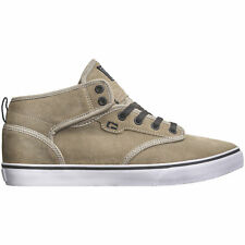 Globe Motley Mid Skate Shoes Chinchilla Shaved Suede