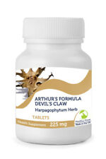 DEVIL'S CLAW Arthurs Formula 225mg 30/60/90/120/180/250 Tablets