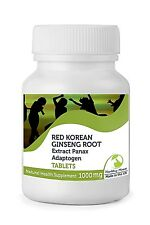 Red Korean Ginseng Root Extract 2500mg 30/60/90/120/180/250 Capsule