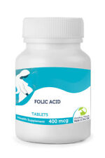 ACIDO FOLICO 400MCG vitamina B9 30/60/90/120 /180/250 compresse