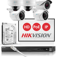 5PC zxtech 2mp Hi Def 25fps Cámara en color Hikvision Oficina NVR Bricolaje