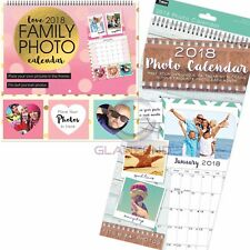 Tallon 2018 Photo Calendar & New Family Photo Calendar with Photo Pockets & Pen