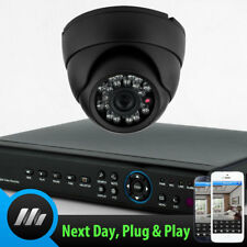 Sony CCD Kuppel Kamera 4 CH Digital Video Recorder Full CCTV Heimwerker Set