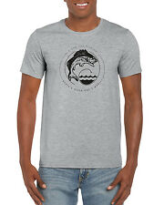 """""""A Bad Day's Fishing Beats A Good Day's Work """" Graphic Fishing T-shirt"""