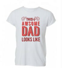 This Is Awesome Dad Fathers Day Gift Funny Kids Cotton TShirt T Shirt