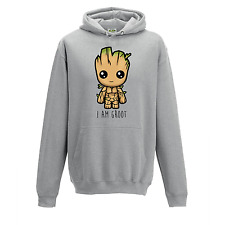 """I Am Groot"" Cute Baby Groot Guardians of The Galaxy 2 Inspired Hoodie"