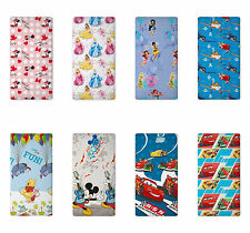 Minnie Mickey Mouse Princess Fairies Pooh Bed sheet with Elastic border 90x200CM