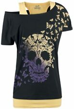 Full Volume by EMP Until The Last Butterfly Maglia donna nero