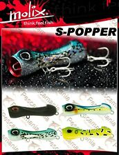 Artificiale spinning Molix S-POPPER-110 11cm 38gr. top water