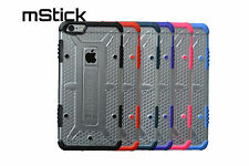 mStick Vigour Series Transparent Hard Back Cover Case For Apple iPhone 6 Plus