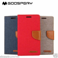 Premium Quality Canvas Diary Flip Cover Case For Samsung Galaxy Note 5