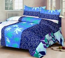 IWS Cotton Printed Double Bedsheet (1 Double Bedsheet, 2 Pillow Covers) - IAL