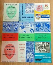 Auckland Rugby Union Programmes 1960 - 1994