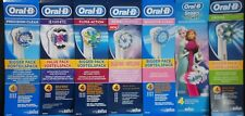 BRAUN ORAL B TOOTHBRUSH HEADS PRECISION CLEAN SENSITIVE 3D CROSS FLOSS ACTION