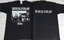 1BURZUM ASKE TSHIRT Black Metal Church Burning Varg Front & Back Print Größe Ltd