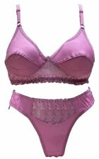 FANCY BRA PANTY SET (WINE COLOR) [SGROZYSET]