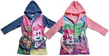 Girls Dressing Gown Super Wings Dizzy Jett Plane Hooded Bathrobe 3 to 6 Years