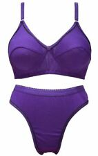 PLAIN BRA PANTY SET (PURPLE COLOR) [SGSGCOOLSET]