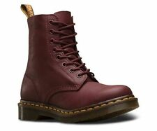 Dr Martens PASCAL 1460z Cherry VIRGINIA soft Leather 13512411 rrp £125