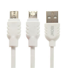 Micro USB Charging, Data Transfer, Data Cable For Huawei Y541  -Milky White