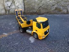 Remote Control 1/20 Scale RC Tractor Truck Mercedes-Benz Actros Flat Bed Trailer
