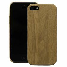 Silicone Tpu Cover Case Wooden Style Protective Cover For Apple iPhone SE 5 5S