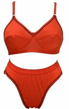 PLAIN BRA PANTY SET (RED COLOR) [SGSGCOOLSET]