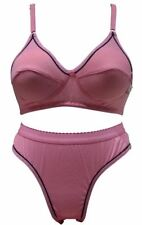 PLAIN BRA PANTY SET (PINK COLOR) [SGSGCOOLSET]