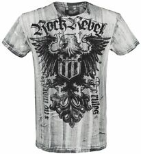 Rock Rebel by EMP Rebel Soul T-Shirt bianco