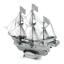3D Metal Magnetic Jigsaw Puzzles Stainless Steel Assembly Ship Educational Toys