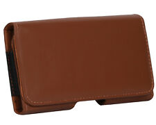 Holster Belt Case Leather Pouch Cover Compatible For HTC Desire 700