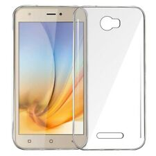 Exclusive Silicone TPU Clear Back Cover For Intex Aqua 5.5 VR Plus -Transparent