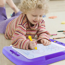 SGILE Kids Baby Magnetic Erasable Drawing Board Doodle Writing Educational Toys